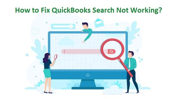 QuickBooks Search Not Working